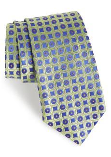 Nordstrom Men's Shop Criss Cross Geometric Silk Tie