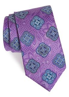 Nordstrom Men's Shop Delpy Medallion Silk Tie