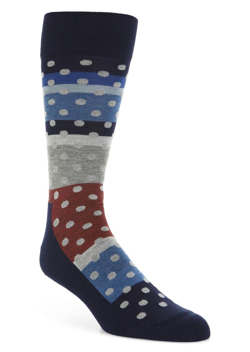 Nordstrom Men's Shop Dot & Stripe Socks (3 for $30)