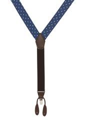 Nordstrom Men's Shop Dot Denim Suspenders