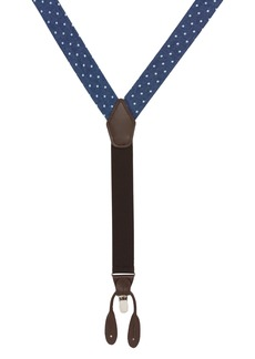 Nordstrom Men's Shop Dot Denim Suspenders
