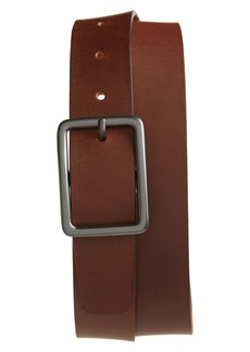 Nordstrom Men's Shop Dylan Rubberized Leather Belt