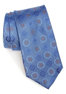 Nordstrom Men's Shop Edlin Medallion Silk Tie