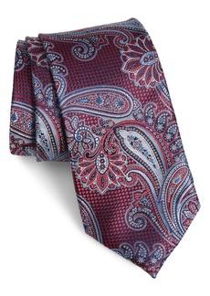 Nordstrom Men's Shop Ennio Paisley Silk Tie