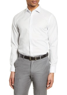 Nordstrom Men's Shop Extra Trim Fit Non-Iron Dress Shirt