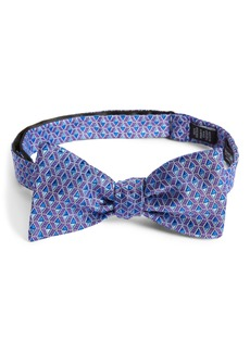 Nordstrom Men's Shop Farson Geometric Silk Bow Tie