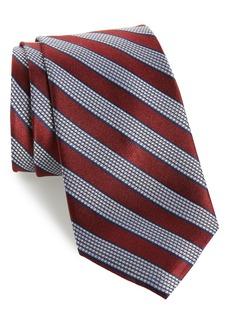 Nordstrom Men's Shop Fierro Stripe Silk Tie