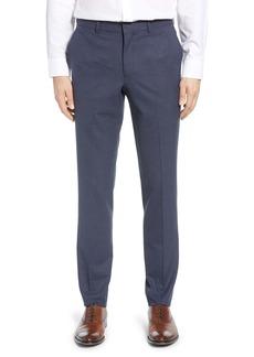 Nordstrom Men's Shop Flat Front Trousers