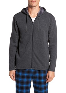 Nordstrom Men's Shop Fleece Zip Hoodie