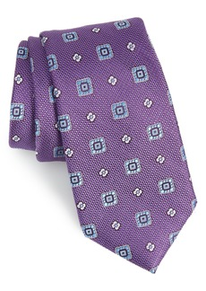 Nordstrom Men's Shop Fox Trot Medallion Silk Tie