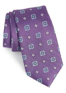 Nordstrom Men's Shop Fox Trot Medallion Silk Tie