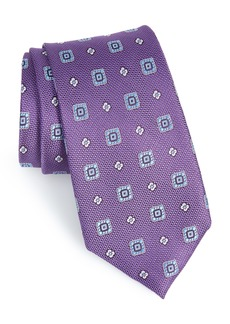 Nordstrom Men's Shop Foxtrot Medallion Silk Tie (X-Long)