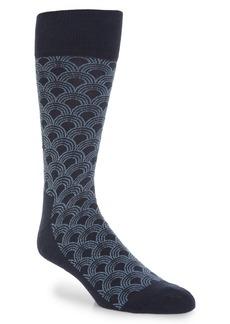 Nordstrom Men's Shop Geo Ocean Waves Socks (3 for $30)