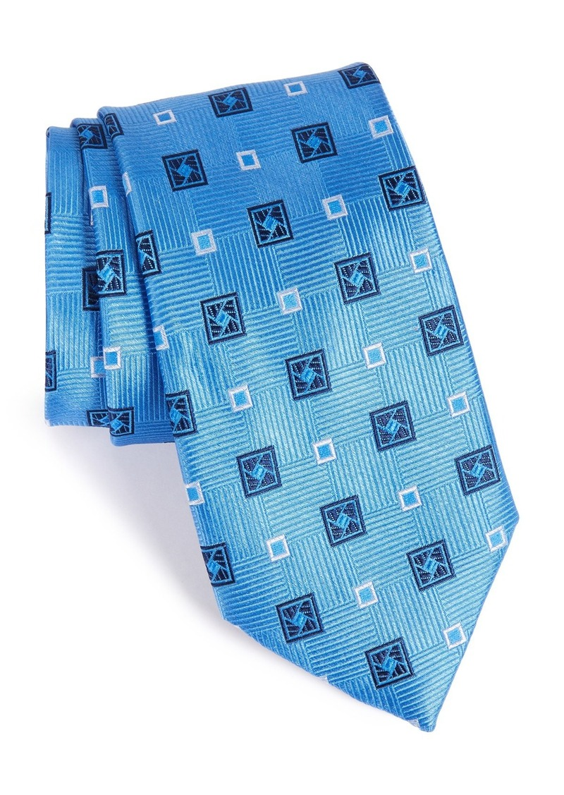Nordstrom Men's Shop Geometric Silk Tie