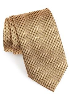 Nordstrom Men's Shop Geometric Silk X-Long Tie