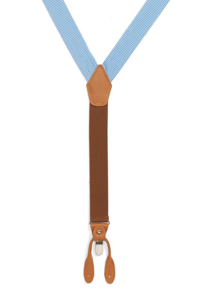 Nordstrom Men's Shop Gingham Suspenders