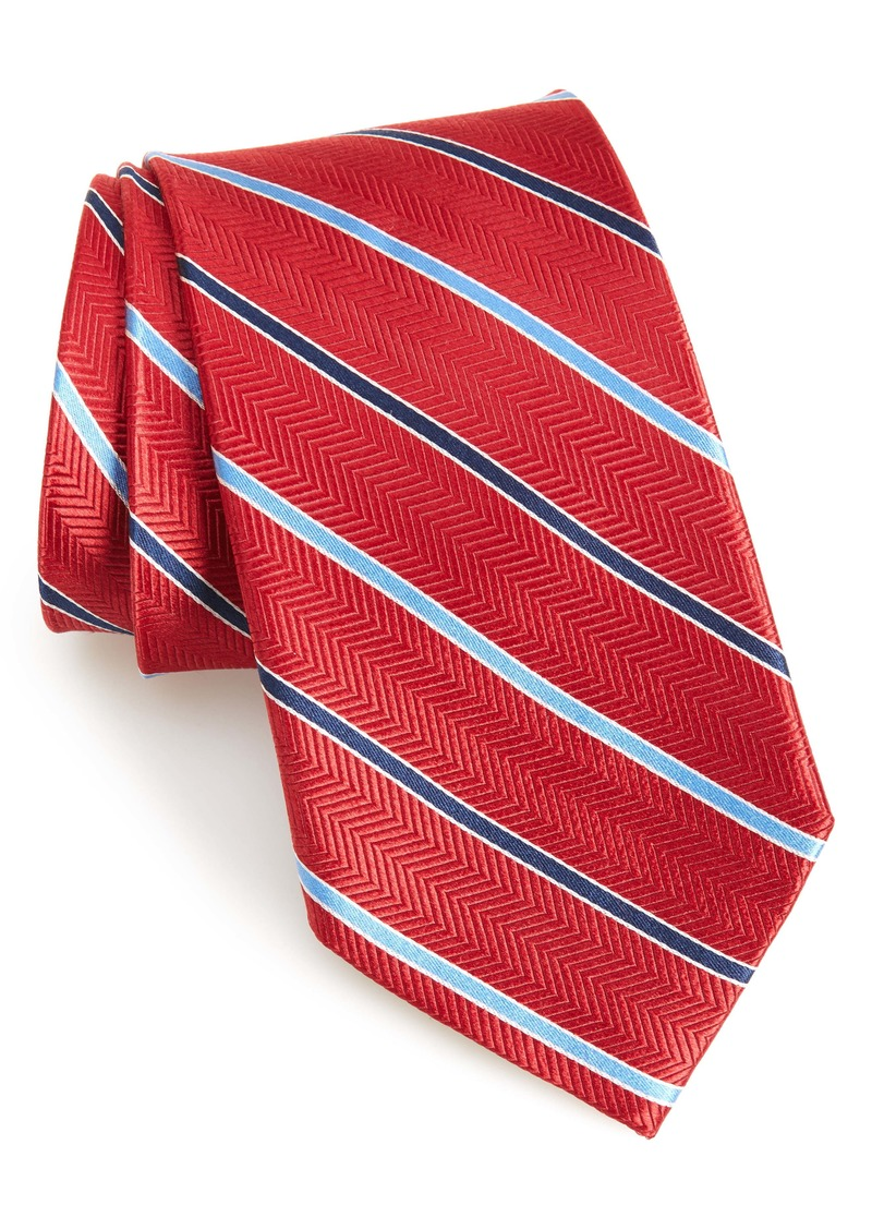 Nordstrom Men's Shop Girard Stripe Silk Tie