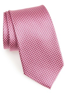 Nordstrom Men's Shop Grid Silk Tie