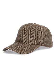 Nordstrom Men's Shop Herringbone Ball Cap