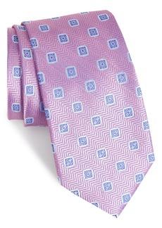 Nordstrom Men's Shop Herringbone Silk Tie