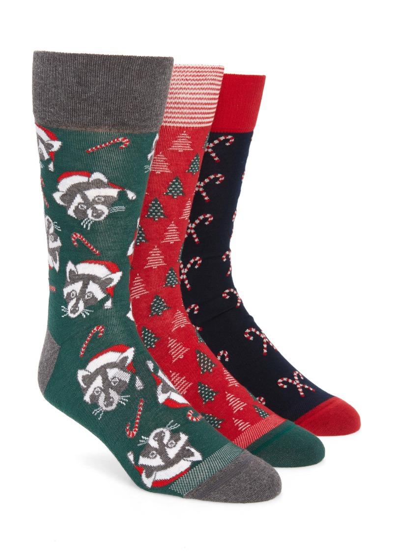 Nordstrom Men's Shop Holiday 3-Pack Socks