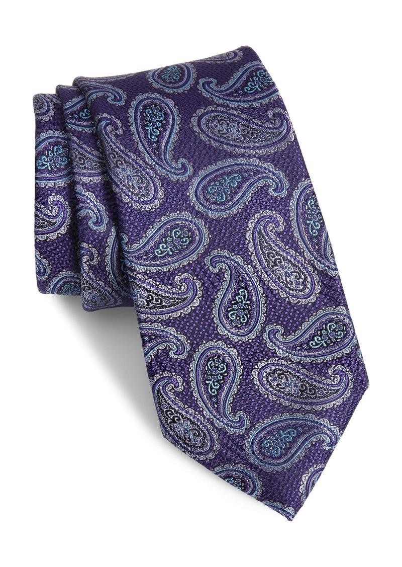 Nordstrom Men's Shop Jasper Paisley Silk Tie