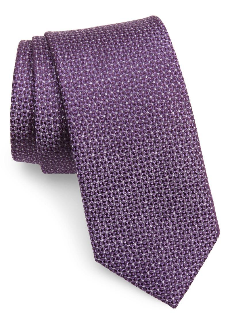 Nordstrom Men's Shop Kartel Geometric Silk X-Long Tie