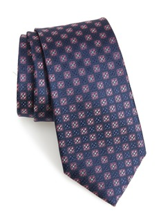 Nordstrom Men's Shop Kaye Medallion Silk Tie