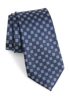 Nordstrom Men's Shop Kaye Medallion Silk Tie