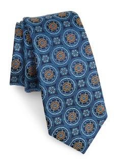 Nordstrom Men's Shop Kensington Medallion Silk Tie