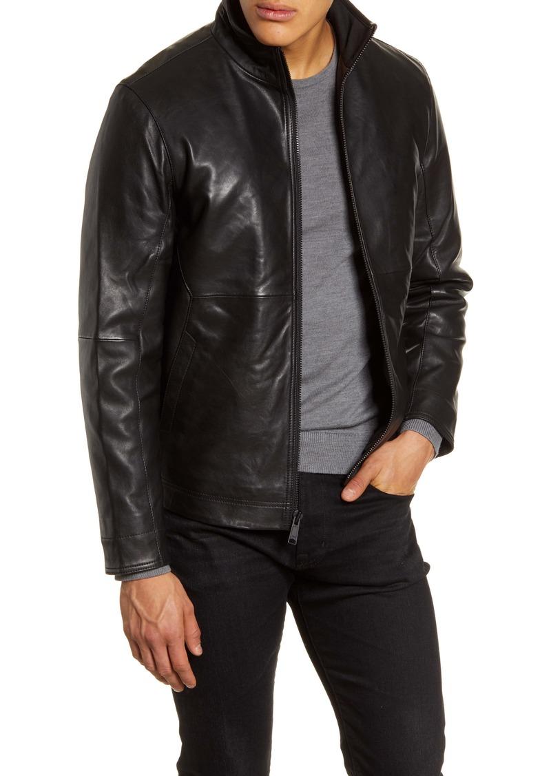 Nordstrom Men's Shop Leather Jacket