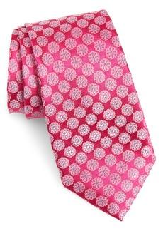 Nordstrom Men's Shop Leland Floral Silk Tie