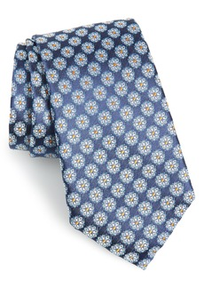 Nordstrom Men's Shop Leland Floral Silk Tie