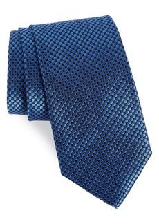 Nordstrom Men's Shop London Dot Silk Tie (X-Long)