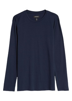 Nordstrom Long Sleeve Pima Cotton Lounge T-Shirt