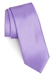 Nordstrom Men's Shop Lucent Geometric Silk Tie