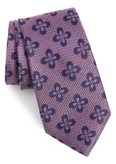 Nordstrom Men's Shop Manistee Floral Silk Tie