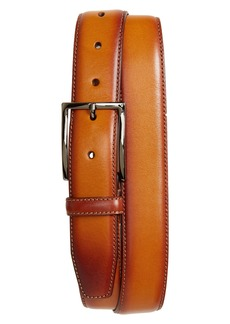 Nordstrom Men's Shop Marco Burnished Leather Belt