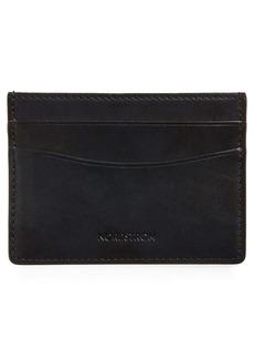 Nordstrom Marco Burnished Leather Card Case