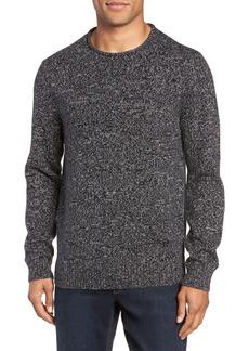 Nordstrom Men's Shop Marled Cotton & Cashmere Roll Neck Sweater