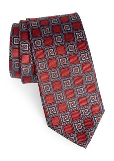 Nordstrom Men's Shop Medallion Silk Tie