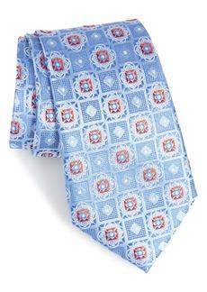 Nordstrom Men's Shop Megan Medallion Silk Tie