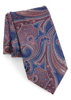Nordstrom Men's Shop Meranda Paisley X-Long Silk Tie