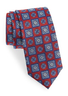 Nordstrom Men's Shop Merry Medallion Silk Tie