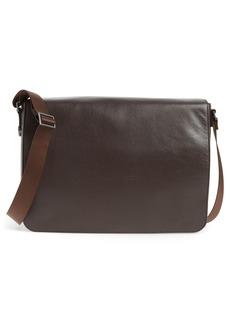 Nordstrom Men's Shop Midland Leather Messenger Bag