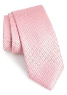 Nordstrom Men's Shop Milton Check Silk Tie