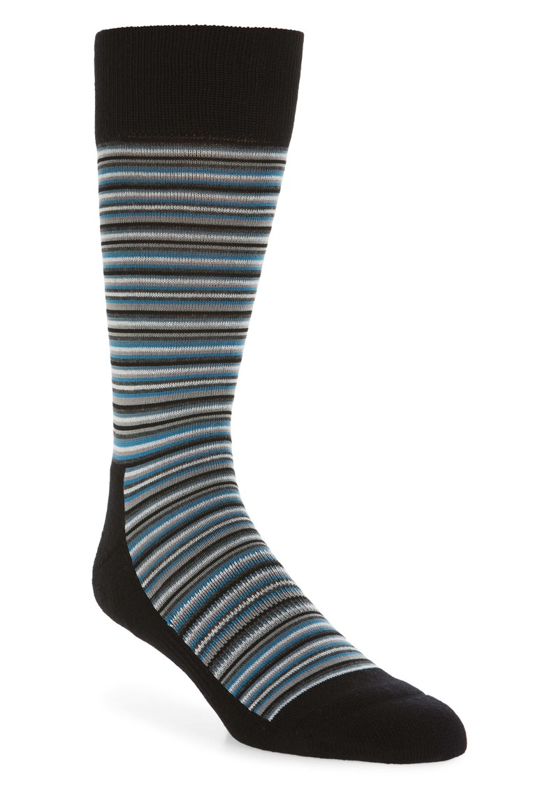Nordstrom Men's Shop Mini Varied Stripe Socks (3 for $30)