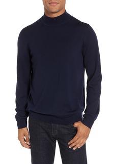 Nordstrom Men's Shop Mock Neck Merino Wool Sweater (Regular & Tall)