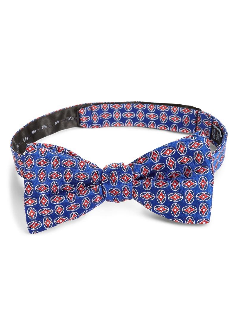 Nordstrom Men's Shop Mullic Geometric Silk Bow Tie