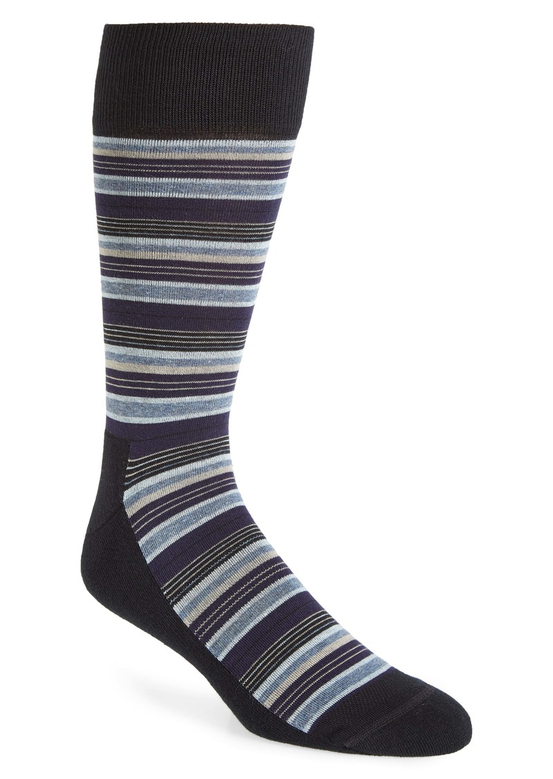 Nordstrom Men's Shop Multi Stripe Socks (Any 3 for $30)